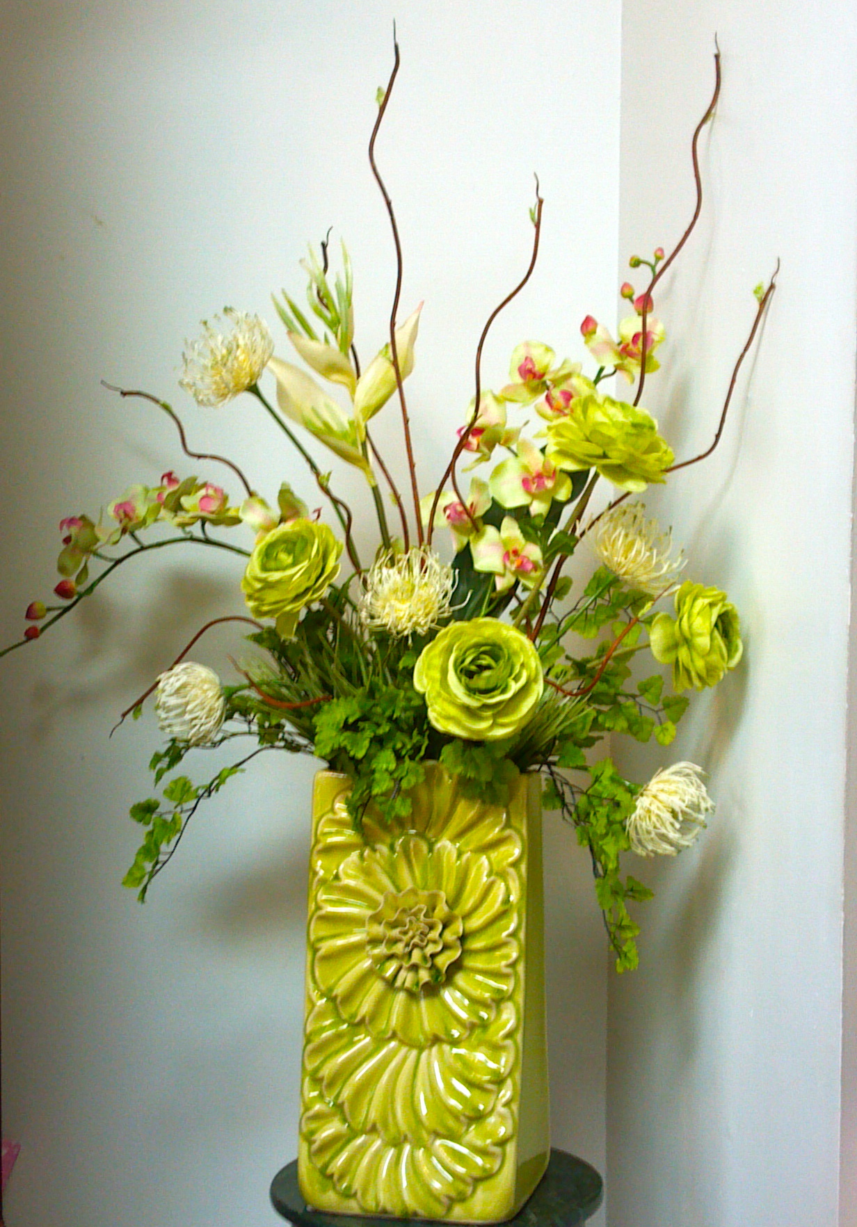 Fruit of the spirit floral designs artist feature Floral creations