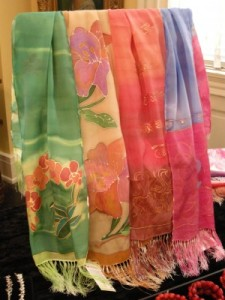 Find an assortment of scarfs at EWI's online store!