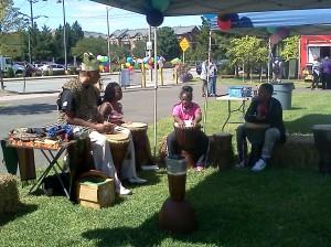 Peruvian drumming !